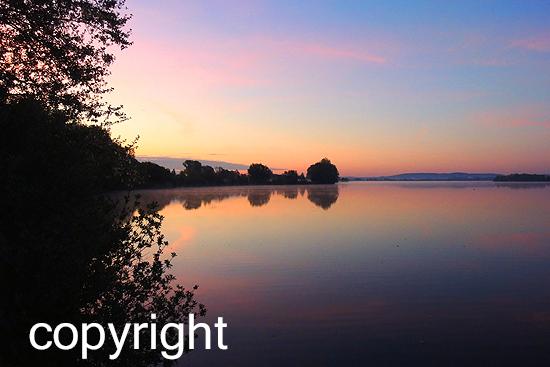 Sonnenaufgang Muhr am See